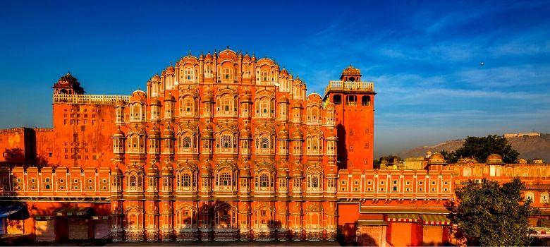 Jaipur palais des vents dans la vielle ville aussi connue « La ville rose »